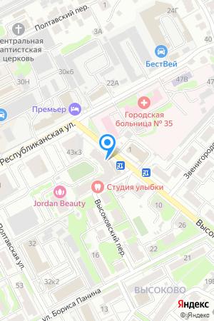 Дом 43 корп.7 по ул. Республиканская, ЖК Высоково на Яндекс.Картах