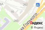 Схема проезда до компании АВТОЭКСПОРТ в Нижнем Новгороде