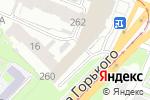 Схема проезда до компании Стекло-Люкс в Нижнем Новгороде