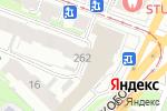 Схема проезда до компании Rise в Нижнем Новгороде