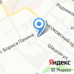 Высоково на карте Нижнего Новгорода
