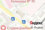 Схема проезда до компании NaturaLine в Нижнем Новгороде