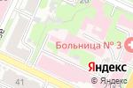 Схема проезда до компании Нижегородский областной гериатрический центр в Нижнем Новгороде