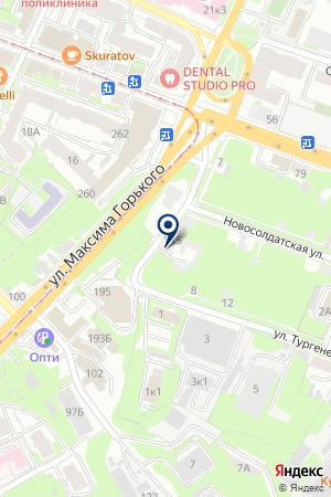 МЕБЕЛЬНЫЙ САЛОН ВАШ КОМФОРТ на карте Нижнего Новгорода