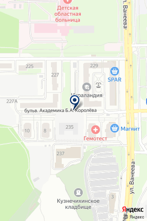 САЛОН ЖАЛЮЗИ-ШТОР ВЕРСАЛЬ на карте Нижнего Новгорода