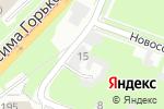 Схема проезда до компании На Сенной в Нижнем Новгороде