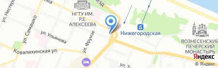Lana Brunov на карте Нижнего Новгорода