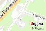 Схема проезда до компании Изограф в Нижнем Новгороде