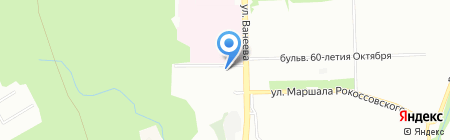Арни на карте Нижнего Новгорода