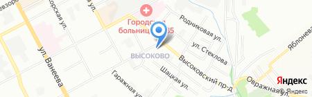Юлия на карте Нижнего Новгорода