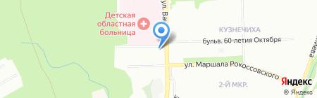Сестрица на карте Нижнего Новгорода