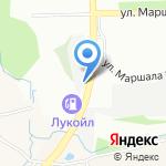 Склад на карте Нижнего Новгорода