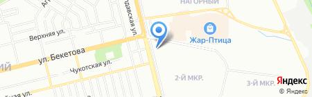 Шеринг-экспресс на карте Нижнего Новгорода