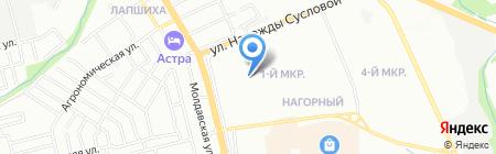 Детский сад №423 Лучик на карте Нижнего Новгорода