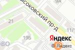 Схема проезда до компании Синтэкс в Нижнем Новгороде