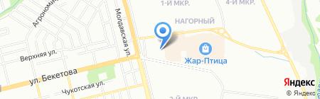 Приор-НН на карте Нижнего Новгорода