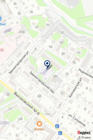 АВАРИЙНО-ДИСПЕТЧЕРСКАЯ СЛУЖБА НИЖЕГОРОДОБЛГАЗ на карте Нижнего Новгорода