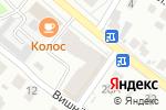Схема проезда до компании Меркурий в Нижнем Новгороде