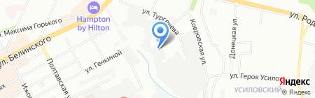 Континет-НН на карте Нижнего Новгорода