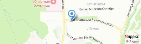 Лайм на карте Нижнего Новгорода