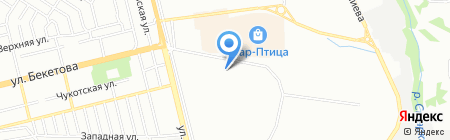 Экономъ на карте Нижнего Новгорода
