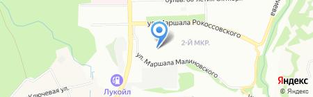 Детский сад №441 на карте Нижнего Новгорода
