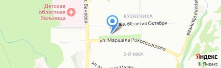 Магазин обуви на карте Нижнего Новгорода
