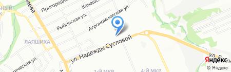 Богородская кожгалантерея на карте Нижнего Новгорода