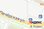Схема проезда до компании X Level в Нижнем Новгороде