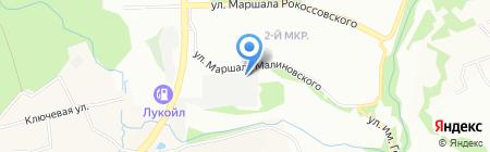 ВЖИК-ABТО на карте Нижнего Новгорода
