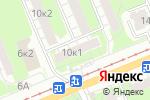 Схема проезда до компании Виктория в Нижнем Новгороде