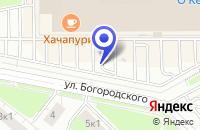 Схема проезда до компании АТЕЛЬЕ МОДНИЦА в Богородске