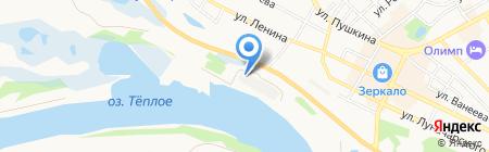 Чайная мастерская Серебряковых на карте Бора