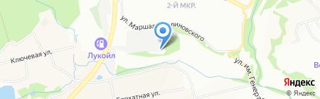 ФлайАвто на карте Нижнего Новгорода