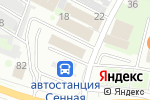 Схема проезда до компании Желанные сладости в Нижнем Новгороде