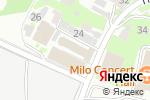 Схема проезда до компании БОК в Нижнем Новгороде