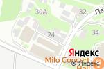 Схема проезда до компании Контент-НН в Нижнем Новгороде