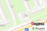 Схема проезда до компании Anytime в Нижнем Новгороде