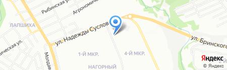 Магнит на карте Нижнего Новгорода