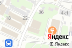 Схема проезда до компании Спортивное кафе в Нижнем Новгороде