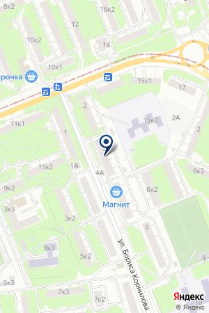 АПТЕКА СОВЕТСКОГО РАЙОНА № 297 на карте Бора