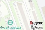 Схема проезда до компании Шахерезада в Нижнем Новгороде
