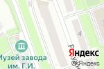Схема проезда до компании КАРИНА в Нижнем Новгороде