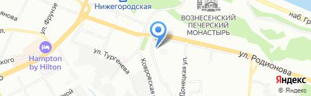 Банкомат АКБ Связь-банк на карте Нижнего Новгорода