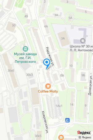 Дом 21 по ул. Ковровской на Яндекс.Картах