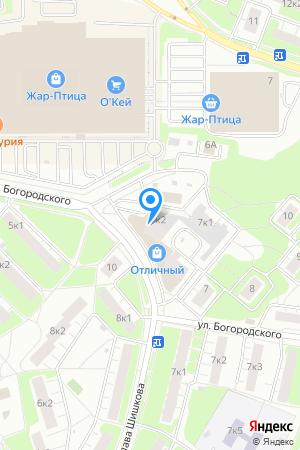 Дом 7 корп.2 по ул. Богородского, ЖК Нагорный на Яндекс.Картах