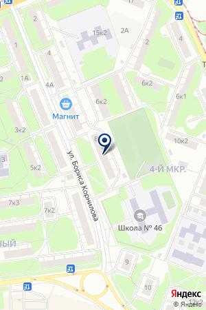 АВТОЦЕНТР ТЕХНОСЕРВИС на карте Бора