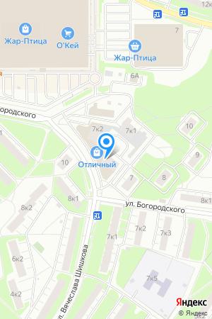 Дом 7 корп.3 по ул. Богородского, ЖК Нагорный на Яндекс.Картах