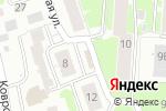 Схема проезда до компании Родник в Нижнем Новгороде