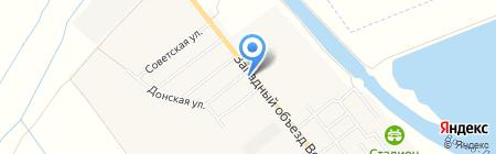 Продуктовый магазин на Тепличной на карте Береславки